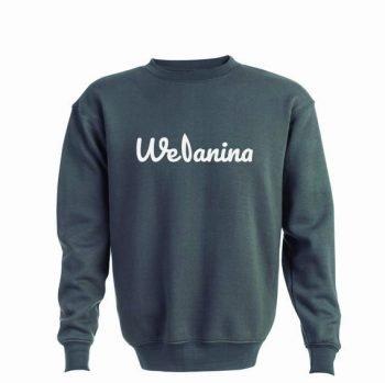 Sweatshirt Sem Capuz Welanina Basic Series